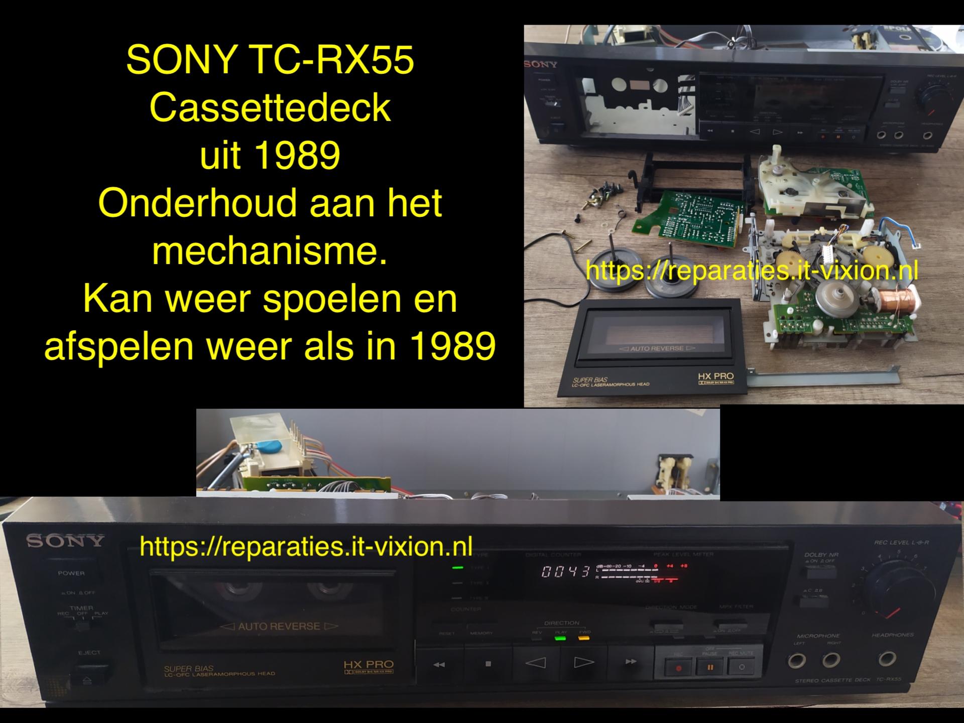 Sony TC-RX55
