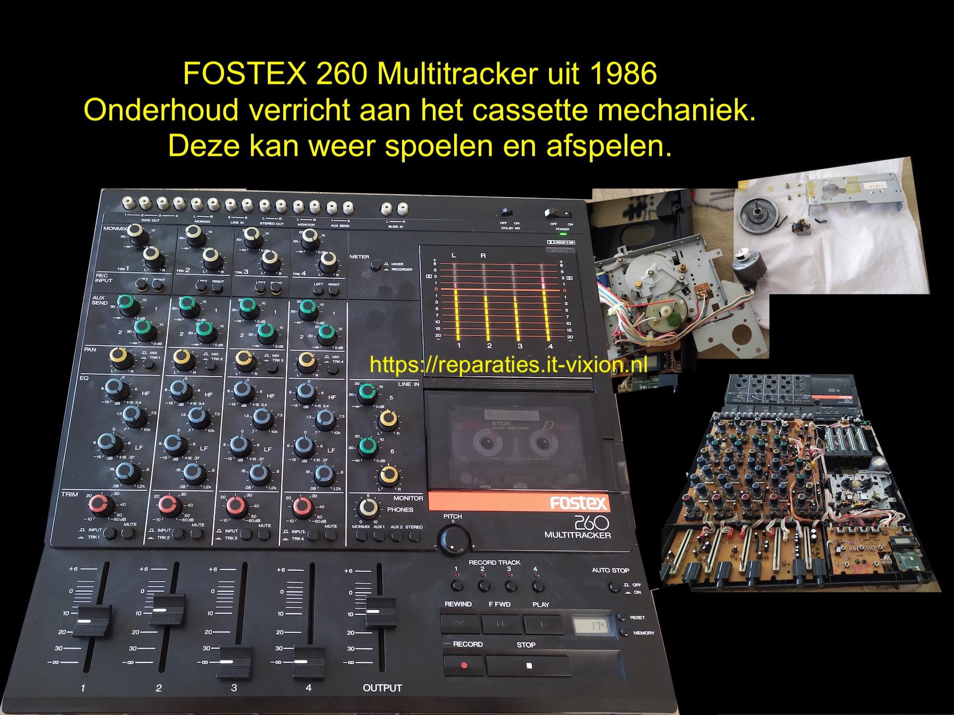 Fostex260 Multitracker uit 1986