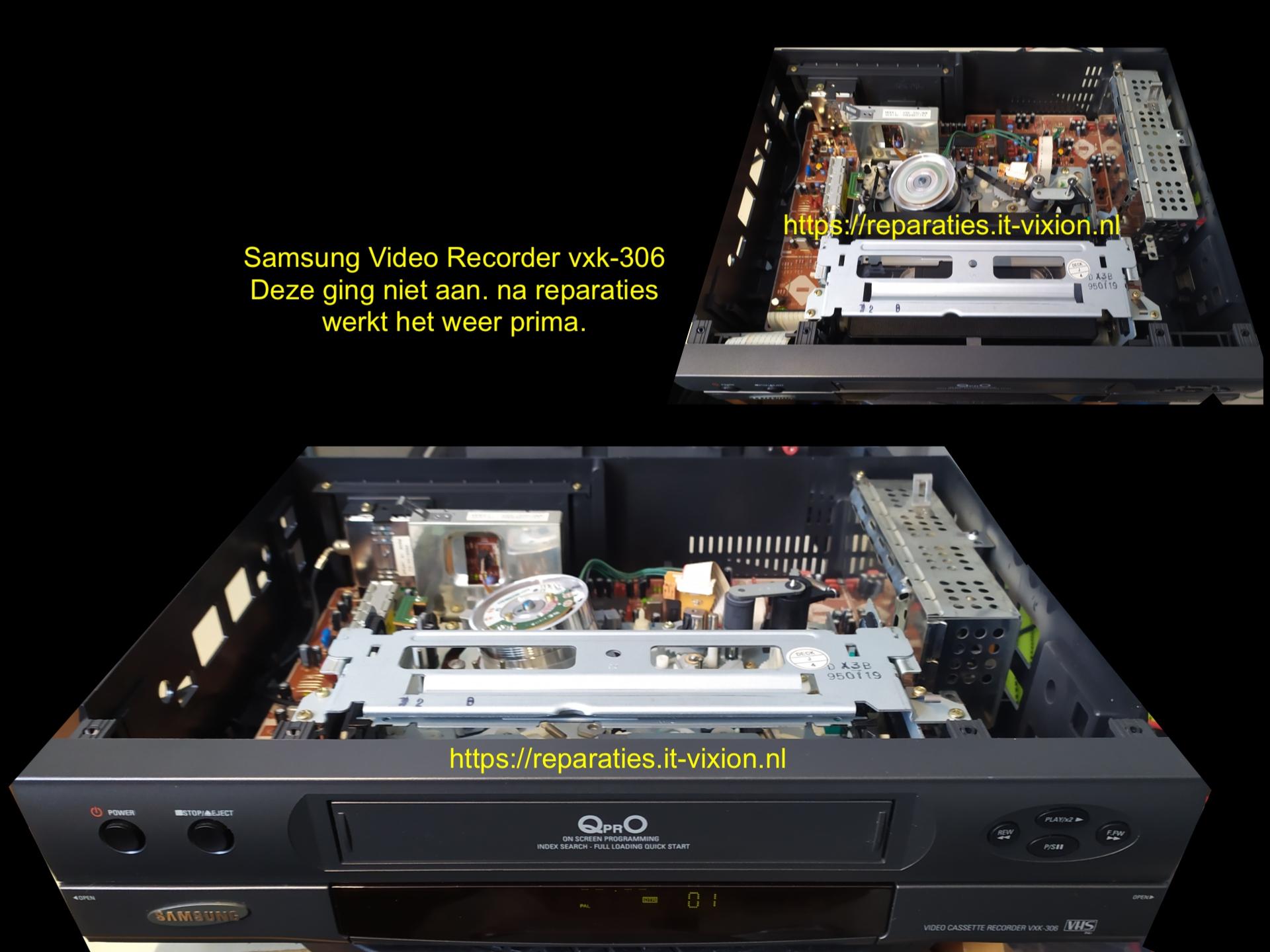 Samsung video recorder vxk-306