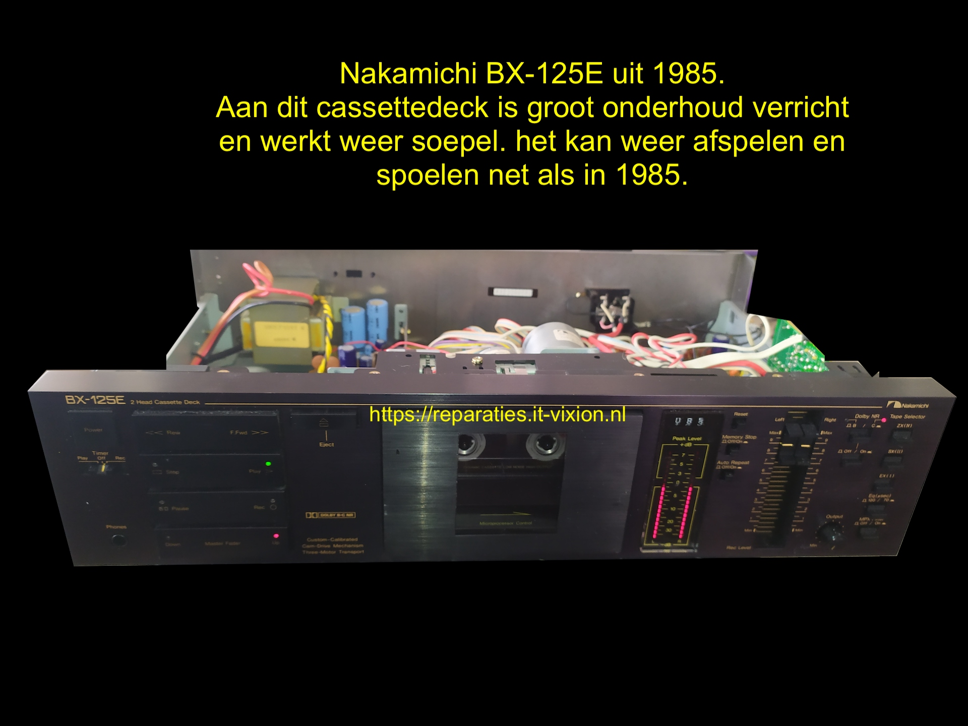 Nakamichi BX-125E uit 1985