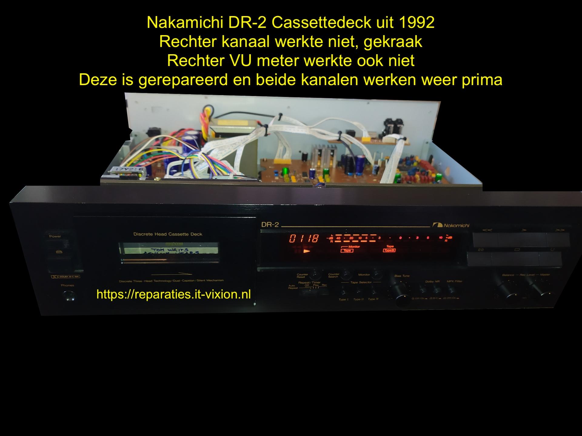 Nakamichi DR-2 Cassettedeck uit 1992