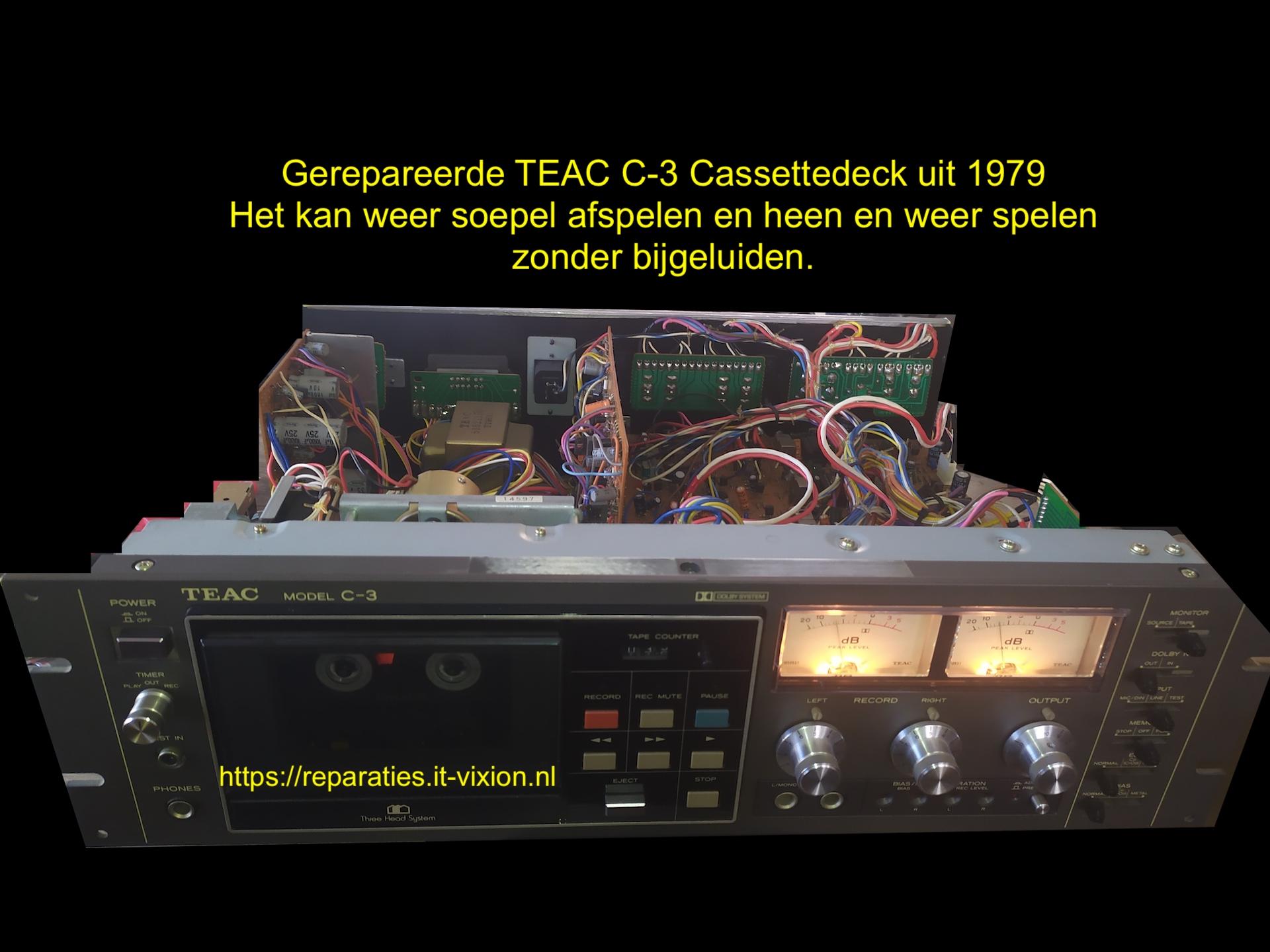 TEAC C-3 Cassettedeck uit 1979